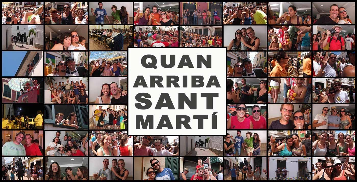 Quan arriba Sant Martí. Foto Es Far Cultural