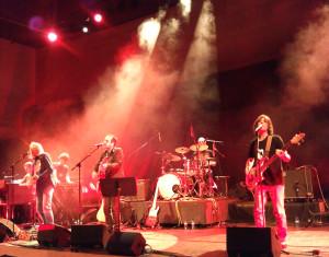Smoumolnö en el concierto de presentación de su disco de debut en Girona. Foto: Marina Abat.