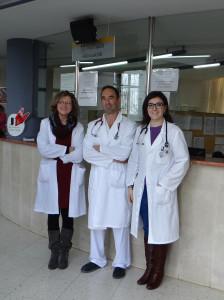 Los doctores que conforman la unidad. FOTO.- 4VENTS