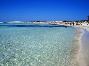 Playa de Ses Illetes, en Formentera.