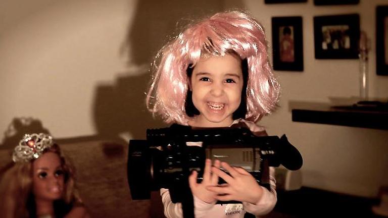Cortometraje 'Mi papá es director de cine'.