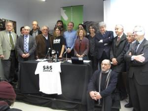Foto de los asistentes al acto celebrado en Barcelona. FOTO.- GOB