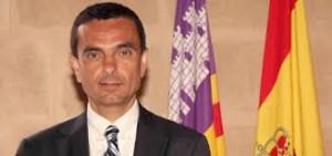 El conseller Joaquín García, optimista. FOTO.- CAIB
