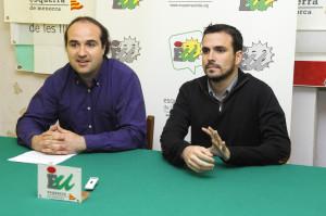 Juanmi Gomila y Alberto Gazón.