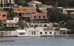 Zona en la que vivió Mercedes Mila, hasta que Autoridad Portuaria la recupero.