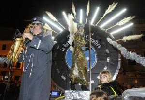 """""""La reina de la carretera"""", la protesta más festiva contra la reforma de la 'general' . FOTO.- Tolo Mercadal"""