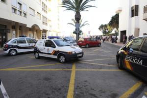 asesinato de un marroqui en la calle maria lluisa serra