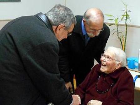 100 años Catalina Barceló. foto Ajuntament de ciutadella..