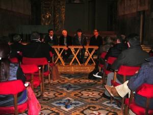 Momento de la asamblea de JJMM de Ciutadella en el Socors.