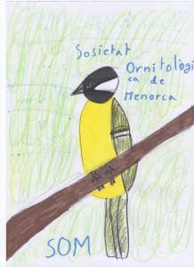 Concurso dibujo Els ocells del teu poble de SOM.