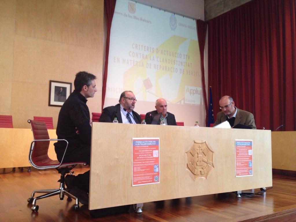 Foto reunió ITV Menorca 17 3 2015