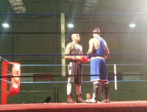 Momento de uno de los combates (Fotos: K1 Box)