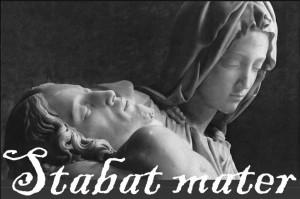 Imagen del cartel anunciador de este 'Stabat Mater'.