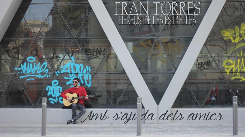 Imagen promocional del nuevo videoclip de Fran Torres