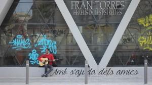 Imagen promocional del nuevo videoclip de Fran Torres. Foto: F.T.
