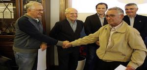 Paco Pons, en un reconocimiento de la AHFM (Foto: deportesmenorca.com)