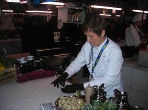 La cocinera Sílvia Anglada.