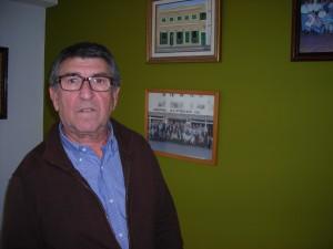 El aún presidente del Casino 17 de Gener Simeón Anglada.