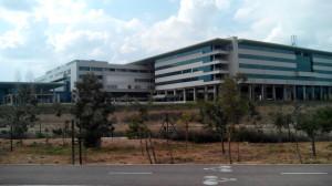 Vista del Hospital de Son Espases, en Palma.
