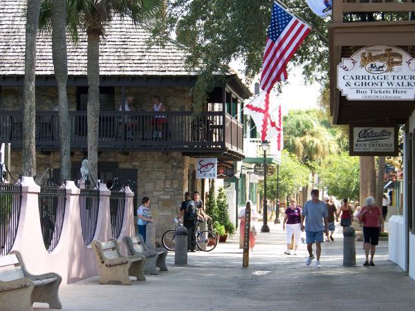 Calles de San Agustín de la  Florida.