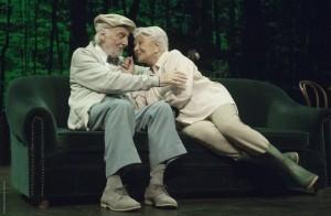 Héctor Alterio y Lola Herrera son Norman y Ethel Thayer.