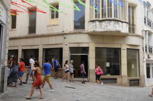 Galerías Parpal cambió de ubicación para ceder su edificio a una gran cadena de ropa.