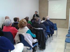 La charla se impartió en el Centre de Salut Canal Salat.