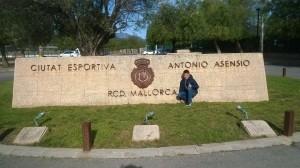 Truyol, en la ciudad deportiva Antonio Asensio (Foto: CE Ferreries)