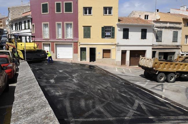 asfaltado cuesta del sol y de las piques