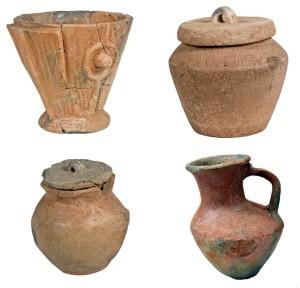 Piezas del mes de abril. Foto: Museu de Menorca.