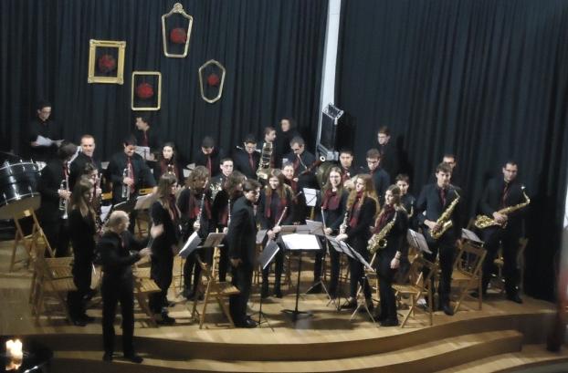 Banda de Alaior en su concierto de Navidad