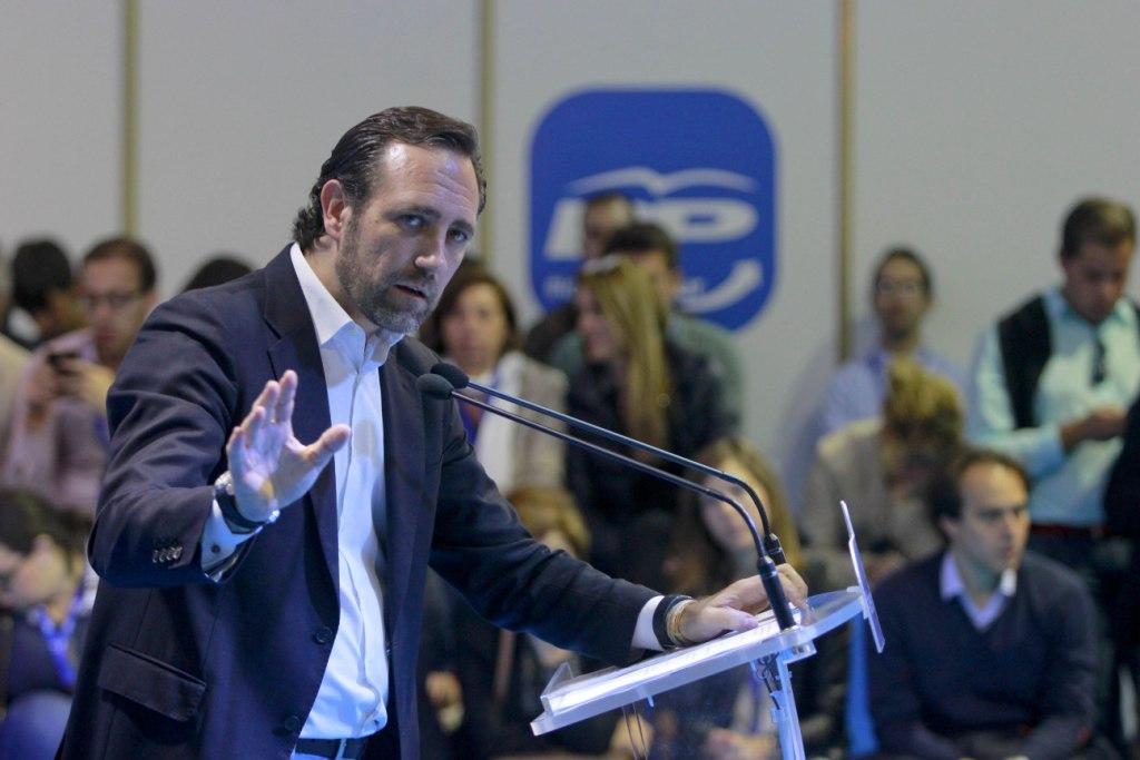José Ramón Bauzá en un acto del PP, partido que ahora abandona