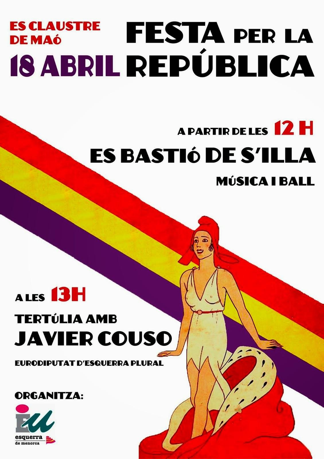 CARTELL FESTA REPÚBLICA