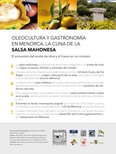 Expoliva 2015 panell expositor Menorca