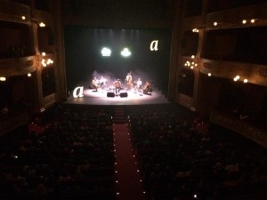 Cris Juanico en el Festival Strenes. Foto: Xavi Pascual.