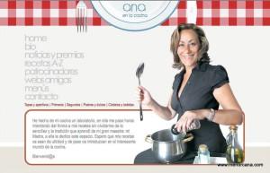 Imagen de Ana Gámez de su blog 'Ana en la cocina'. Foto: www.menorcana.com