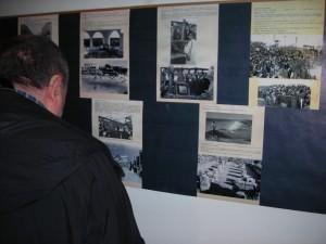 Momento de la inauguración de la exposición 'Ciutadella. Del passat quan era present' el pasado noviembre.