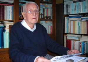Jesús de Olives, el pasado noviembre en su casa de Ciutadella.