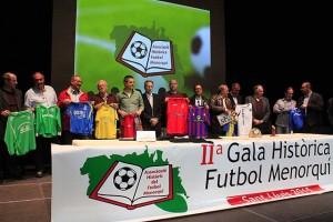 Diferentes momentos de la gala (Fotos: deportesmenorca.com)