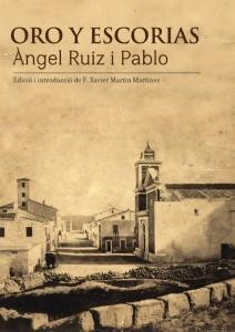 Portada de la nueva edición de 'Oro y escorias'.