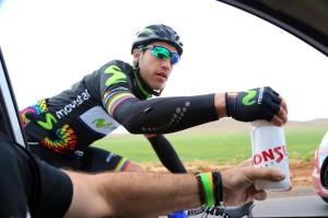 Albert Torres, durante una de las etapas.
