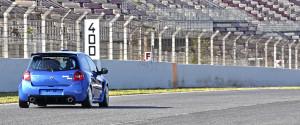 Test en el circuito de Barcelona.