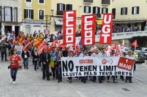 manifestacion 1» de mayo