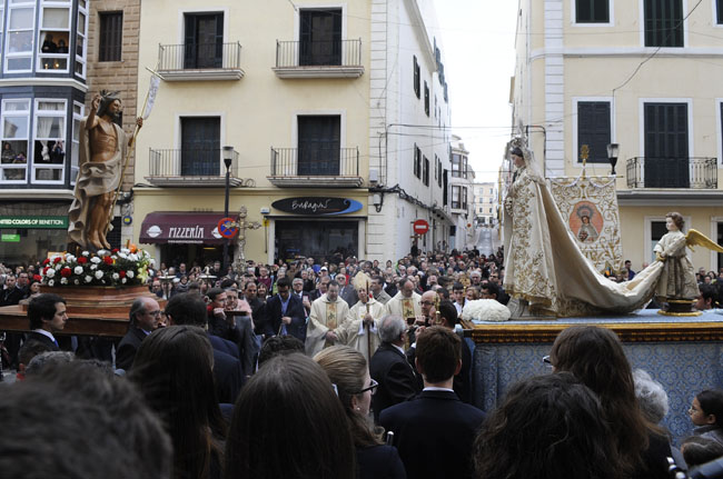 procesion del encuentrosemana santa