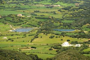 Vista de una de las depuradoras de Menorca.