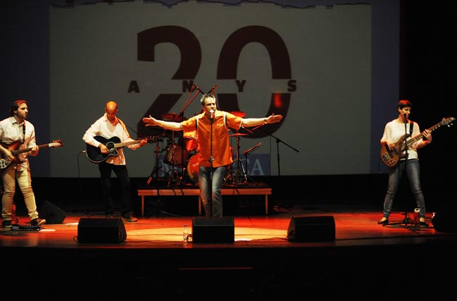 concierto 20 aniversario inventari en el teatre principa