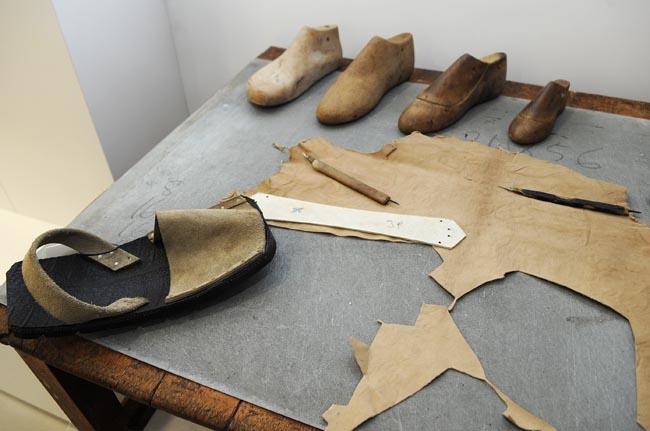 Avarcas, calzado artesanal