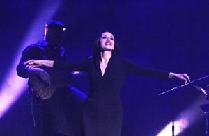 La cantante en plena actuación. FOTO.- Tolo Mercadal