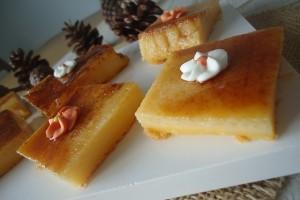 'Flam amb licor de mandarina'. Foto: blog Ses cuinetes d'Ague.