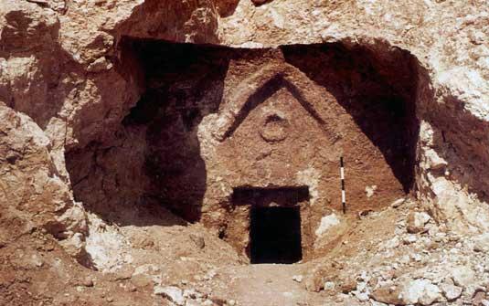 1Tumba del siglo I descubierta en Talpiot.